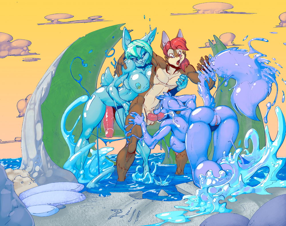 or is female mewtwo male Nel zel formula android 18