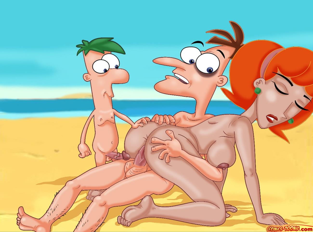 phineas and linda ferb nude How tall is a hunter in halo