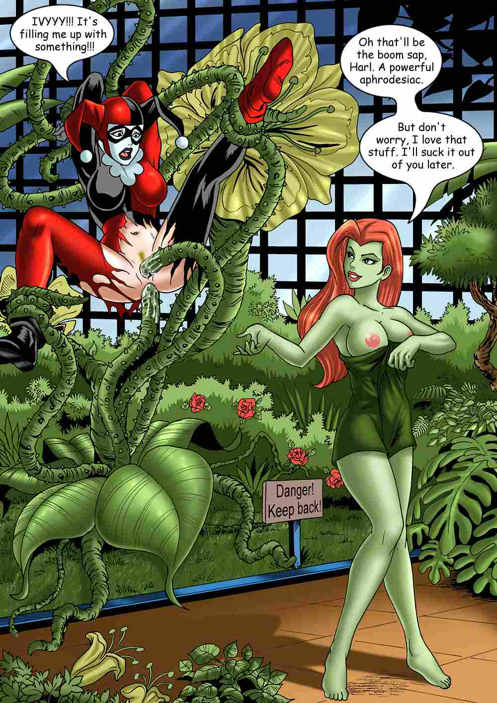 nude ivy harley quinn poison A sex goblin with a carnival penis