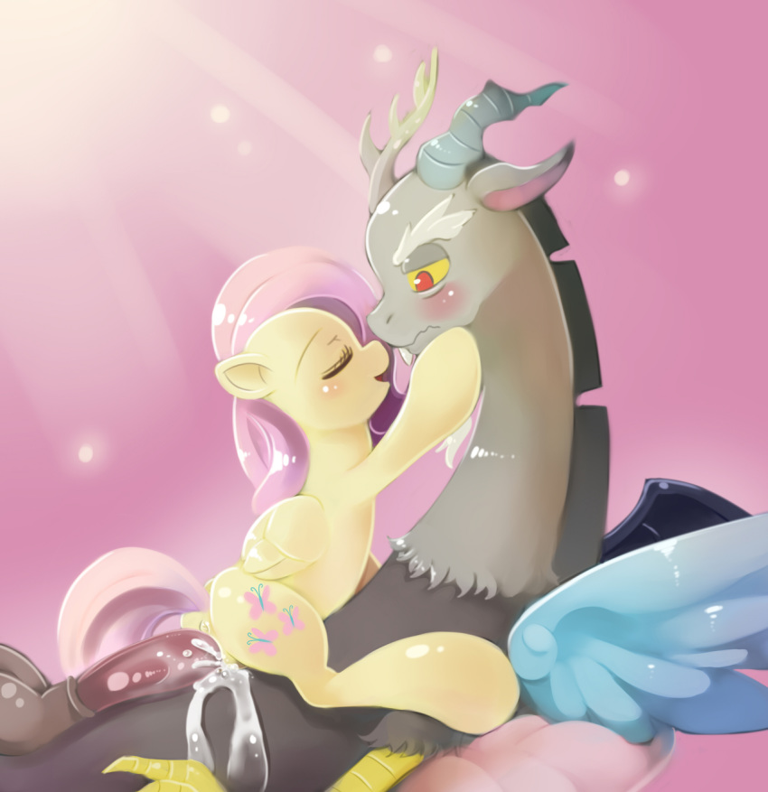 discord fanart fluttershy and mlp Zootopia nick and judy sex