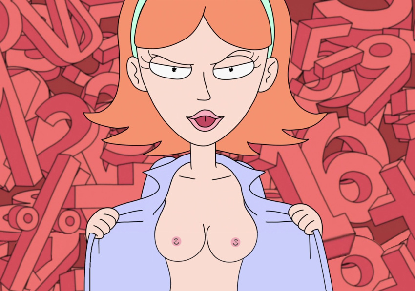 summer rick and nude morty Futa on male stomach bulge